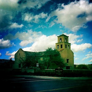 23 Dec 2014: Church in Santa Fe