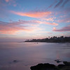 July 25 - No dinner, just a sunset in Laguna Beach...<br /> <br /> #CY365 - With clouds (glad the clouds cooperated with the prompt)
