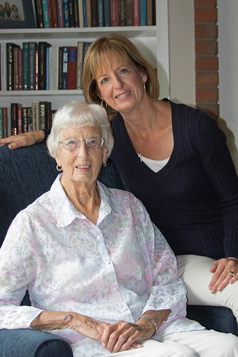 May 8 - A double celebration here this weekend.  Happy Mother's Day and Happy 89th Birthday to my mom...Let the party begin!!