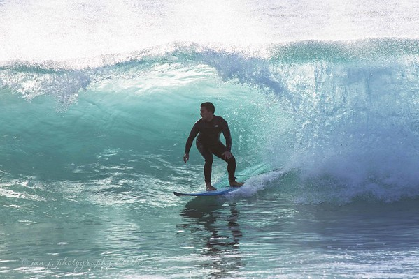 November 10 - I'm liking Salt Creek Beach.  I'll be back to work on this, but next time earlier in the day.  I like the backlit wave, but not the shaded surfer.<br /> <br /> Salt Creek Beach<br /> Dana Point, CA