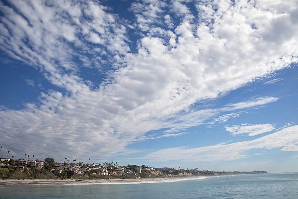December 29 - It was a good cloud day in San Clemente today...