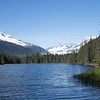 May 13 - The scenery along my walk today was a little different than usual...<br /> <br /> Moraine Lake, Juneau Alaska