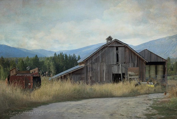 September 4 - Just up the road...  Porthill, Idaho