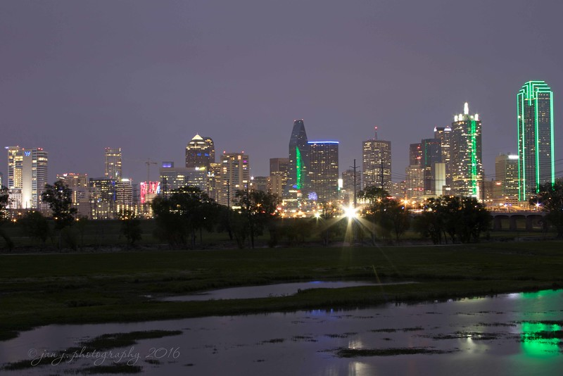April 17 - Dallas at night...  #CY365 - Light/Bright