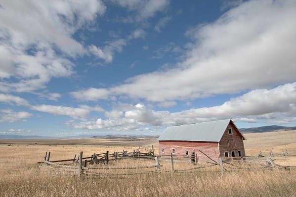 September 9 - Along Springhill Road...<br /> <br /> Bozeman, Montana