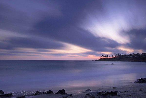 April 13 - I love learning new things!!  At the South County Photo Club's Long Exposure Outing tonight I learned tons!  Whoo hoo...new skills!<br /> <br /> Heisler Park Cove, Laguna Beach CA