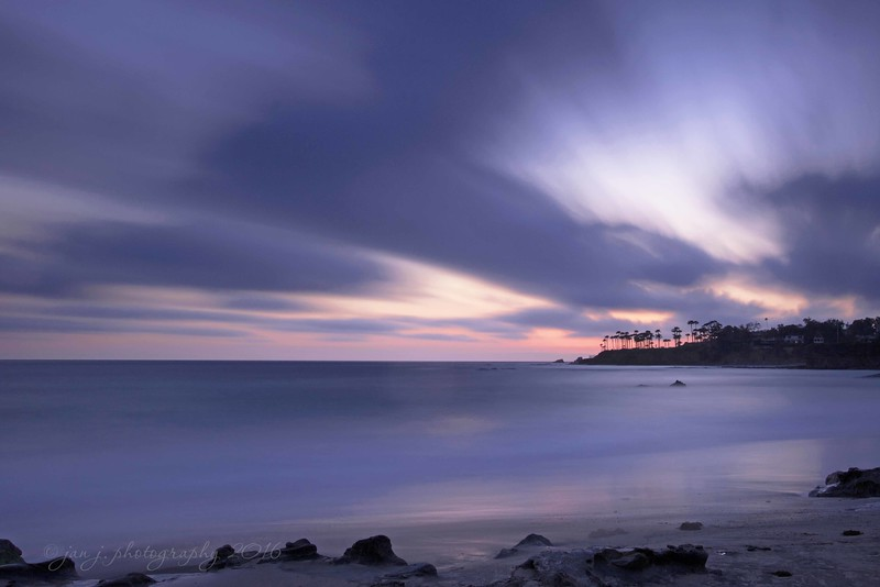 April 13 - I love learning new things!!  At the South County Photo Club's Long Exposure Outing tonight I learned tons!  Whoo hoo...new skills!  Heisler Park Cove, Laguna Beach CA