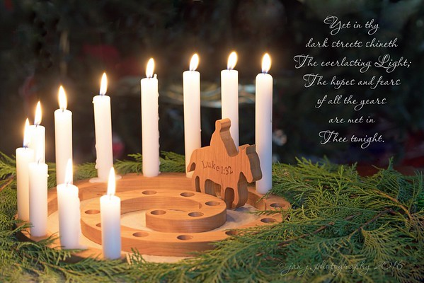 December 11 - And though two thousand years have passed, We're not that far from Bethlehem, Where all our hope and joy began...