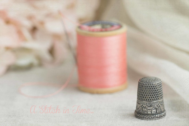 March 21 - Grandma's Thimble...  #Macro Monday - Inheritance
