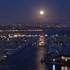 August 18 - Moon over Dana Point Harbor...<br /> <br /> Dana Point, CA