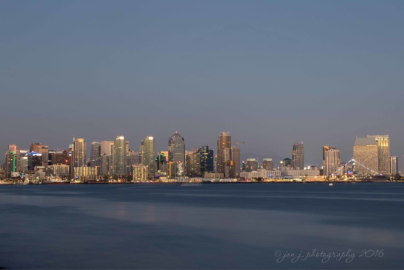 July 9 - An anniversary celebration in San Diego...  San Diego, CA  From Harbor Island