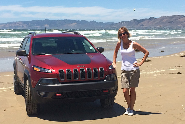 June 18 - Driving on the beach...<br /> <br /> #CY365 - Your ride<br /> Pismo Beach, CA