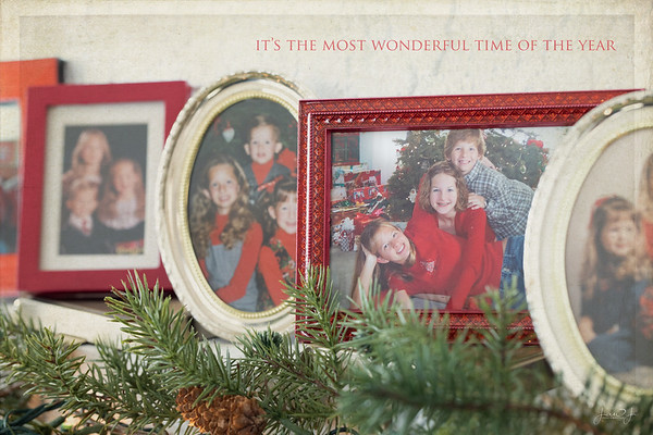 December 8 - ...and tales of the glory of Christmases long, long ago<br /> <br /> #CY365 - Picture in a Picture/Memories