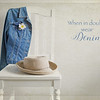 May 2 - Denim...my favorite fabric!<br /> <br /> #CY365 - Denim