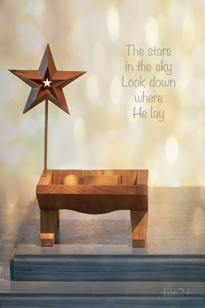 December 19 - Away in a manger no crib for a bed; the little Lord Jesus lay down His sweet head...<br /> <br /> #CY365 - Sounds of the Season