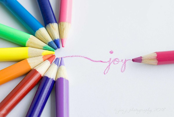 January 3 - I'm looking forward to finding the JOY in each day...<br /> <br /> #CY365 - Word/Goal/Purpose