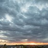 February 20 - I took this from my balcony last night. It is rare that we get ominous clouds like this. Of course even with all the visual drama the rain was sadly minimal.<br /> <br /> #CY365 - Off Prompt