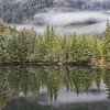 September 23 - Fingers of fog...<br /> <br /> Mendenhall Valley<br /> Juneau, AK