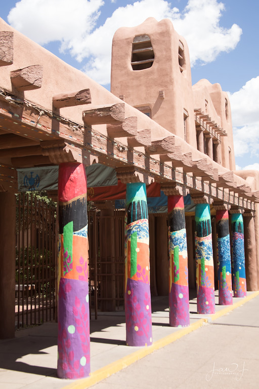 May 15 - It's a beautiful day in Santa Fe, NM