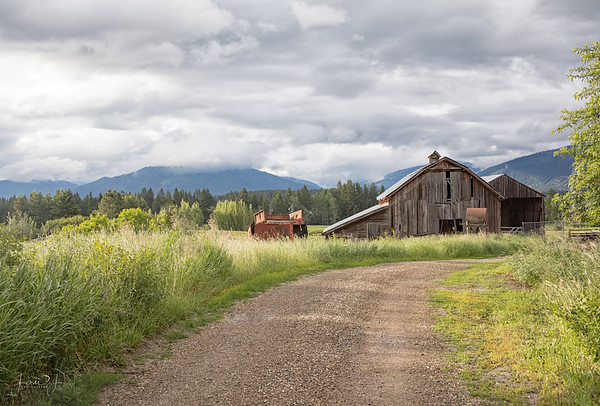June 10 - Just up the road...  Porthill, ID