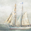 October 1 - Some texture practice today...<br /> <br /> 2018 Dana Point Tall Ship Festival<br /> Dana Point, CA