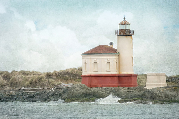 March 31 - I'm thankful for my Light and my Salvation...  Coquille River Lighthouse Bandon, OR