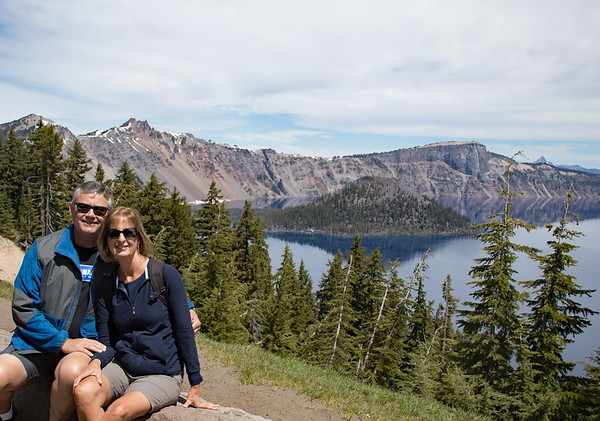 June 14 - Spent an absolutely beautiful day at Crater Lake...