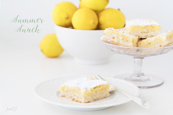July 18 - Lemon Bars...you can't eat just one<br /> <br /> #CY365 - Snack