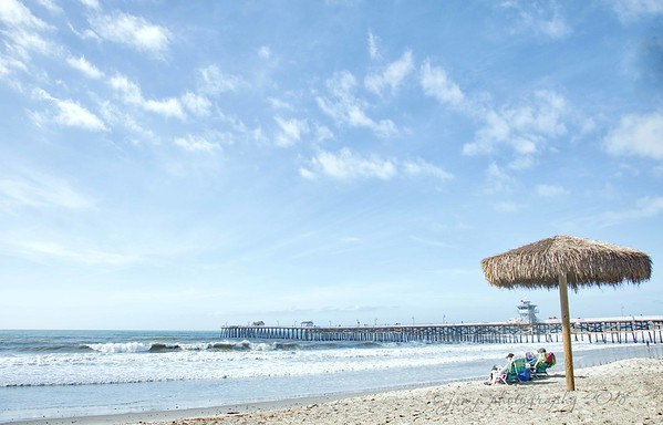 """January 10 - """"I wish the sand was snow."""" Said no one ever...<br /> <br /> #CY365 - Minimal<br /> San Clemente, CA"""