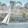 February 18 - Watching some friends sailing on the local lake this afternoon...<br /> <br /> #CY365 - Shutter Speed/Motion<br /> Lake Mission Viejo, CA