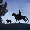 October 18 - Heading in... <br /> (Can you tell I loved doing the silhouettes?)<br /> <br /> #365PictureToday - Scene<br /> Western Pleasure Guest Ranch<br /> Sandpoint, ID