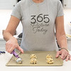 "April 7 - Last weekend I was to be in Washington DC with my 365 Picture Today friends. Since that was cancelled we are getting together ""virtually"" with our fancy new t-shirts. I may not be able to travel...but I can still bake!<br /> <br /> #365PictureToday - Self Portrait"