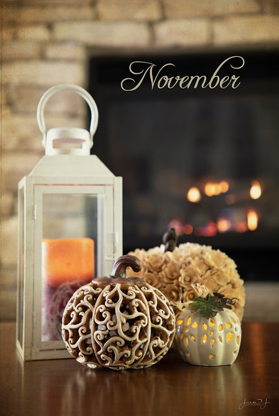 November 1 - I'm thankful for hearth and home...<br /> #30daysofthankfulness