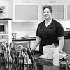 August 8 - Chef Kate in the kitchen...<br /> <br /> The Kitchen at Middleground Farms<br /> Wilsonville, OR