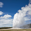 June 18 - Giant Geyser Gushing<br /> <br /> Old Faithful<br /> Yellowstone National Park