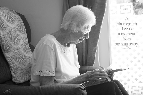 May 10 - Happy Mother's Day. This photo was taken on May 6, 2018, my mom's 91st birthday. It was the last picture I took of her and it is my favorite photo of all that I've taken in the past 7+ years. I'm thankful that I took the time to snap a quick photo. And I'm thankful for all the time, effort, and love she invested into my life.