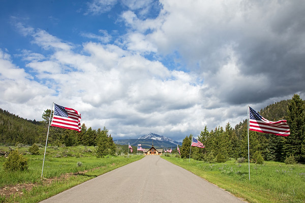 June 14 - They don't call it Big Sky for nothing...<br /> <br /> #365PictureToday - Flag Day