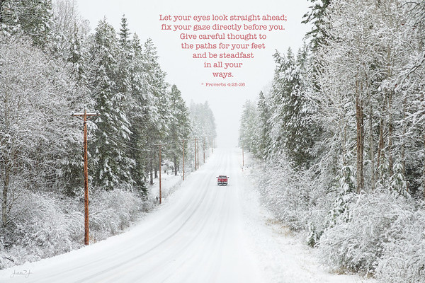 January 23 - I was so glad that pick-up truck was red...<br /> #365PictureToday - Handwriting Day/Red