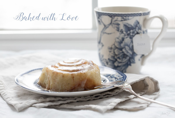 December 29 - When Chef Kate sends you home with her very own homemade cinnamon rolls, you can taste the love in every bite...