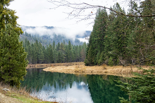 March 30 - Not a park...but better<br /> <br /> #365PictureToday - Take a Walk in the Park Day<br /> Coeur d'Alene River