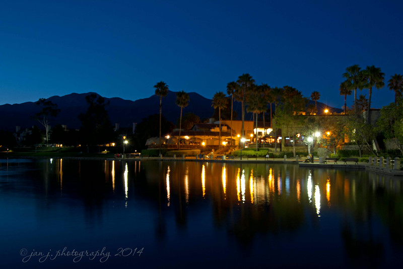 July 31 - The Blue Hour in Rancho Santa Margarita