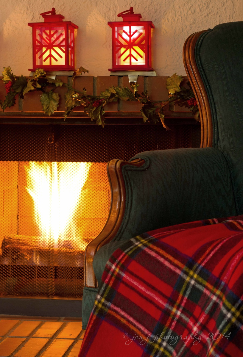 December 2 - Oh the weather outside is frightful, but the fire is so delightful...