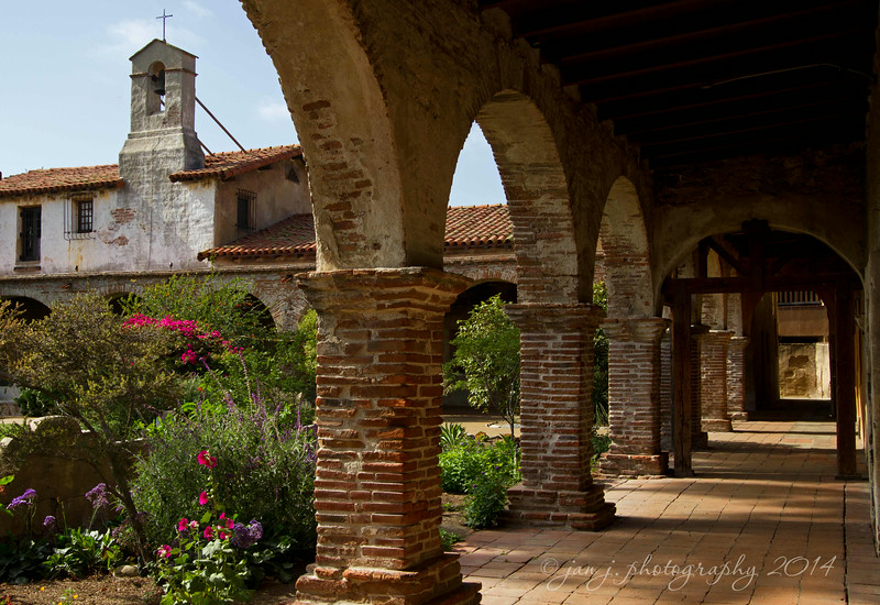 June 30 - An afternoon at Mission San Juan Capistrano