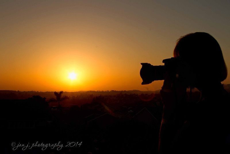 June 12 - Shooting the sunset