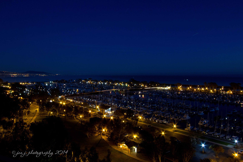 February 13 - M is for Marina...Overlooking Dana Point Harbor