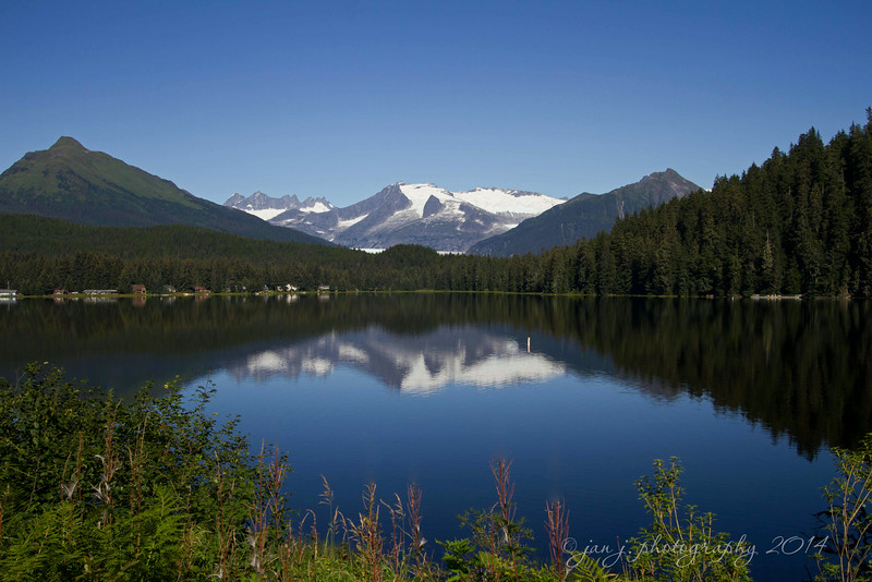 August 21 - It's a beautiful day in Juneau...at Auke Lake