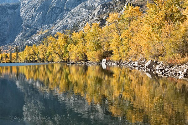 October 9 - God is the best artist...and I'm thankful.<br /> <br /> Silver Lake<br /> Mono County, CA
