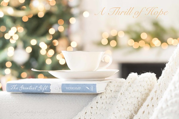 December 8 - A thrill of Hope, the weary world Rejoices... I'm thankful for the hope He brings.  #CY365 - What I'm Reading