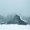 "February 26 - SNOW DAY!!!  I""m thankful to be inside...<br /> <br /> Porthill, ID"
