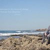 March 6 - Thankful for a morning walk along the beach with my favorite guy...<br /> <br /> Crystal Cove State Beach
